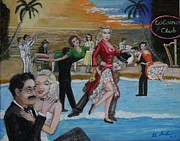 Ballroom Paintings - Marx brothers by Larry Lamb