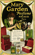 Fragrances Art - Mary Garden 1920s Usa Cc  Womens Tigers by The Advertising Archives