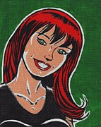 Sports Illustrated Framed Prints - Mary Jane Watson Parker Framed Print by Matt Molleur