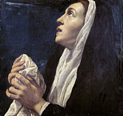Famous Artists - Mary Magdalene by Luis Tristan de Escamilla