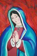 Our Lady Of Guadalupe Pastels - Mary by Melinda Etzold