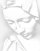 Michelangelo Mixed Media Prints - Mary Pieta Print by Tony Rubino