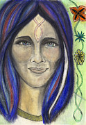 Mary Print by Roger Hanson