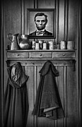 Civil War Time Prints - Mary Todd Lincolns Coat Rack Print by Lee Dos Santos