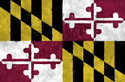 Maryland Digital Art - Maryland Flag by World Art Prints And Designs