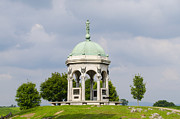 Maryland Digital Art - Maryland Monument - Antietam National Battlefield by Bill Cannon