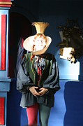 Maryland Renaissance Festival - A Fool Named O - 121210 Print by DC Photographer