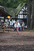 Maryland Renaissance Festival - A Fool Named O - 121231 Print by DC Photographer