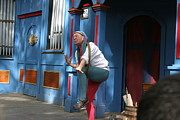 Fool Prints - Maryland Renaissance Festival - A Fool Named O - 121235 Print by DC Photographer