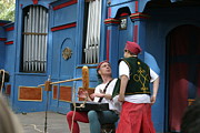 Artist Prints - Maryland Renaissance Festival - A Fool Named O - 121249 Print by DC Photographer