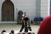 Maryland Renaissance Festival - Hack And Slash - 12123 Print by DC Photographer