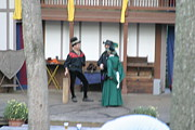 Sword Metal Prints - Maryland Renaissance Festival - Johnny Fox Sword Swallower - 1212132 Metal Print by DC Photographer