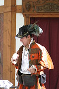 Maryland Prints - Maryland Renaissance Festival - Johnny Fox Sword Swallower - 12122 Print by DC Photographer