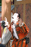 Maryland Renaissance Festival - Johnny Fox Sword Swallower - 121221 Print by DC Photographer
