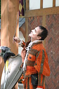 Maryland Renaissance Festival - Johnny Fox Sword Swallower - 121224 Print by DC Photographer