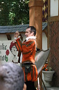 Fox Prints - Maryland Renaissance Festival - Johnny Fox Sword Swallower - 121226 Print by DC Photographer