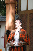 Maryland Renaissance Festival - Johnny Fox Sword Swallower - 121228 Print by DC Photographer