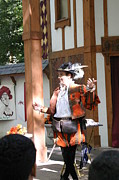 Artist Metal Prints - Maryland Renaissance Festival - Johnny Fox Sword Swallower - 12124 Metal Print by DC Photographer