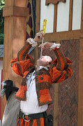 Maryland Renaissance Festival - Johnny Fox Sword Swallower - 121243 Print by DC Photographer
