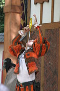 Comedians Framed Prints - Maryland Renaissance Festival - Johnny Fox Sword Swallower - 121244 Framed Print by DC Photographer