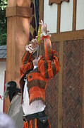 Maryland Renaissance Festival - Johnny Fox Sword Swallower - 121245 Print by DC Photographer