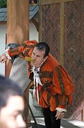 Fox Prints - Maryland Renaissance Festival - Johnny Fox Sword Swallower - 121252 Print by DC Photographer