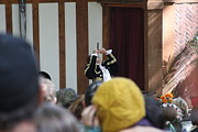 Actor Metal Prints - Maryland Renaissance Festival - Johnny Fox Sword Swallower - 121256 Metal Print by DC Photographer