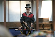 Maryland Renaissance Festival - Johnny Fox Sword Swallower - 121281 Print by DC Photographer