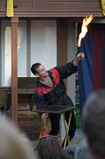 Costume Photos - Maryland Renaissance Festival - Johnny Fox Sword Swallower - 121295 by DC Photographer