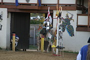 Fighting Art - Maryland Renaissance Festival - Jousting and Sword Fighting - 121210 by DC Photographer