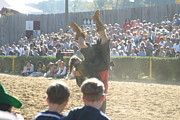Medieval Prints - Maryland Renaissance Festival - Jousting and Sword Fighting - 1212112 Print by DC Photographer