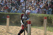 Maryland Renaissance Festival - Jousting And Sword Fighting - 1212119 Print by DC Photographer