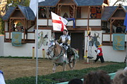 Knight Framed Prints - Maryland Renaissance Festival - Jousting and Sword Fighting - 121212 Framed Print by DC Photographer