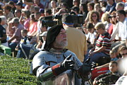 Armor Posters - Maryland Renaissance Festival - Jousting and Sword Fighting - 1212123 Poster by DC Photographer