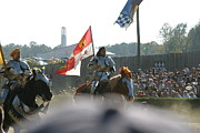 Medieval Prints - Maryland Renaissance Festival - Jousting and Sword Fighting - 1212128 Print by DC Photographer