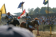 Armor Posters - Maryland Renaissance Festival - Jousting and Sword Fighting - 1212129 Poster by DC Photographer