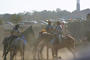 Horses Posters - Maryland Renaissance Festival - Jousting and Sword Fighting - 1212140 Poster by DC Photographer