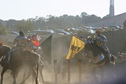 Maryland Prints - Maryland Renaissance Festival - Jousting and Sword Fighting - 1212141 Print by DC Photographer