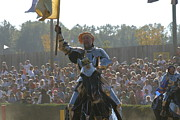Knights Framed Prints - Maryland Renaissance Festival - Jousting and Sword Fighting - 1212143 Framed Print by DC Photographer
