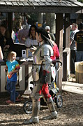 Artist Prints - Maryland Renaissance Festival - Jousting and Sword Fighting - 1212149 Print by DC Photographer