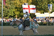 English Photo Prints - Maryland Renaissance Festival - Jousting and Sword Fighting - 121215 Print by DC Photographer