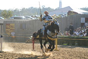 Maryland Framed Prints - Maryland Renaissance Festival - Jousting and Sword Fighting - 1212154 Framed Print by DC Photographer