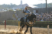 Knight Posters - Maryland Renaissance Festival - Jousting and Sword Fighting - 1212155 Poster by DC Photographer