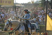 English Framed Prints - Maryland Renaissance Festival - Jousting and Sword Fighting - 1212162 Framed Print by DC Photographer