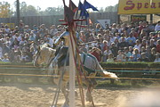 Maryland Renaissance Festival - Jousting And Sword Fighting - 1212166 Print by DC Photographer