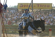 Old Framed Prints - Maryland Renaissance Festival - Jousting and Sword Fighting - 1212169 Framed Print by DC Photographer