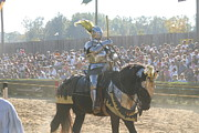Knight Photo Posters - Maryland Renaissance Festival - Jousting and Sword Fighting - 1212171 Poster by DC Photographer