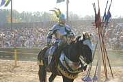 English Prints - Maryland Renaissance Festival - Jousting and Sword Fighting - 1212172 Print by DC Photographer
