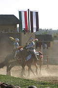 Knight Art - Maryland Renaissance Festival - Jousting and Sword Fighting - 1212177 by DC Photographer
