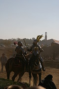 Joust Posters - Maryland Renaissance Festival - Jousting and Sword Fighting - 1212183 Poster by DC Photographer